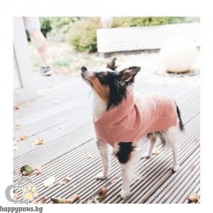 Hunter Кучешки пуловер с качулка Rögla - розово, различни размери