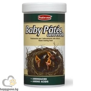 Padovan - Пълноценна храна за новородени зърноядни птици, 100 гр.