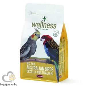 Padovan - Wellness Премиум храна за австралийски папагали, 0.850 кг. - 0.850 кг.