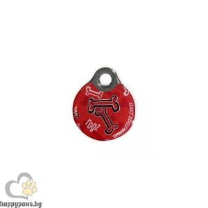 ROGZ - ID TAG Адресник Red Bone, различни размери