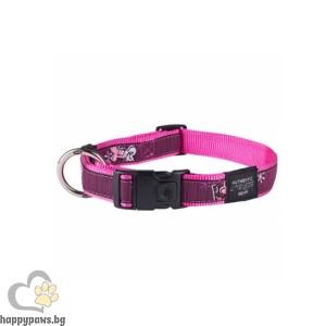 Rogz Pink Love - розов нашийник за кучета, различни размери