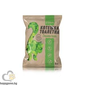 Stefo Green Tea - Екологична котешка тоалетна от соя, зелен чай, различни разфасовки