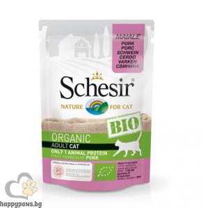 Schesir BIO - био храна за котки, 85 грама
