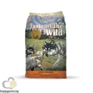 Taste Of The Wild - High Prairie Puppy Grain Free с еленско и бизонско месо