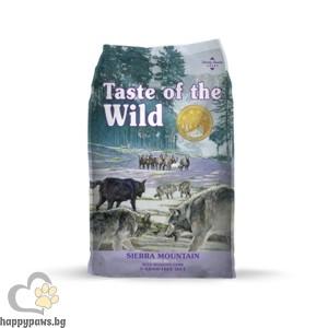Taste Of The Wild - Sierra Mountain Canine Grain Free суха храна с агнешко месо