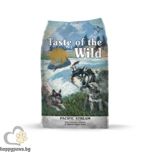 Taste Of The Wild - Pacific Stream Puppy Grain Free със сьомга