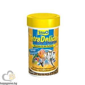 Tetra - TetraDelica Храна за тропически рибки с морски скариди 100мл.