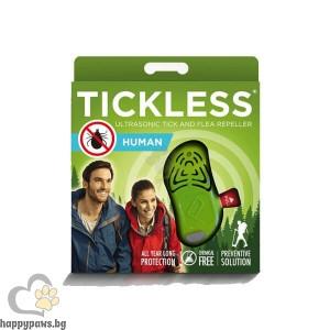 TickLess Ultrasonic Human Електронен уред за предпазаване от кърлежи за деца над 3-годишна възраст и възрастни