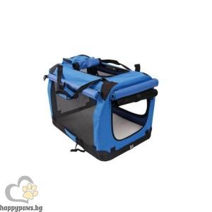 транспортна чанта и кошара - синя