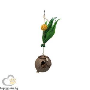 TRIXIE - Кокосов орех-гнездо на въже