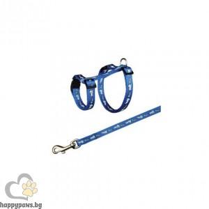 TRIXIE - Нагръдник с повод, сет за гризачи, морско свинче, 21 - 35/ 10 мм // 125 см