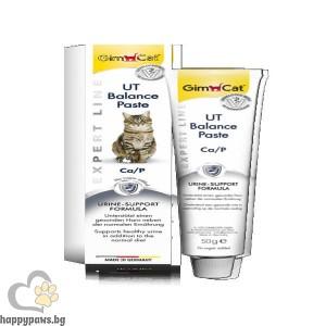 GimCat Expert Line UT Balance Paste - Паста за котки за баланс на уринарния тракт, 50 гр