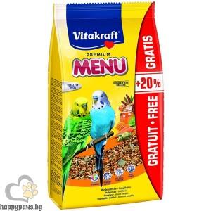 Vitakraft - Premium Menu Храна за вълнисти папагали