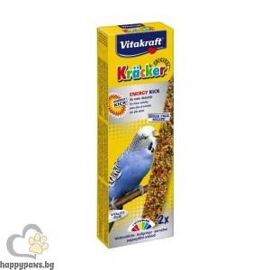 Vitakraft - Energy крекер с йод и висок протеинен състав за вълнисти папагали