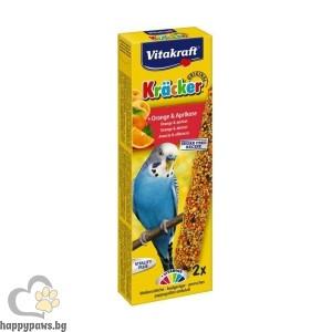 Vitakraft - Крекер портокал и кайсия за вълнисти папагали
