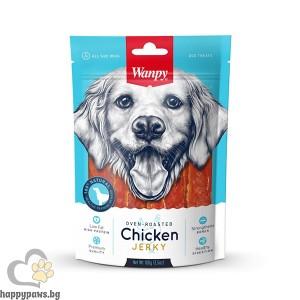 Wanpy - Chicken Jerky премиум клас пилешко филе, печено на фурна, 100 гр
