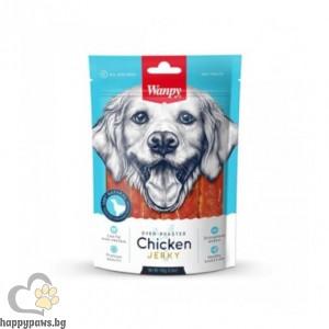 Wanpy - Chicken Jerky премиум клас пилешко филе за всички възрасти, печено на фурна, 454 гр