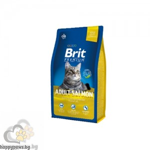 Brit Premium Adult Salmon Urinary Care със сьомга за здрава кожа и лъскав косъм