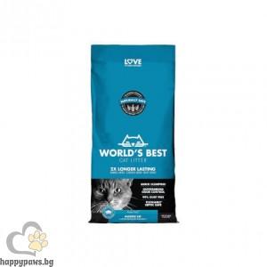 Worlds Best - Cat Scented Multiple cat litter котешка тоалетна с аромат на лотос, различни разфасовки