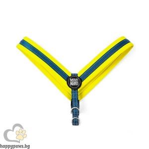 Max Molly H-Harness Q-Fit Yellow Нагръдник за кучета в жълт цвят, различни размери