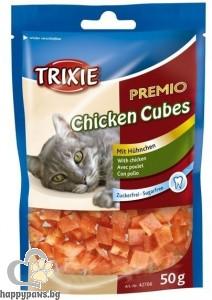 TRIXIE - Премио, Пилешки кубчета - 50 мл.